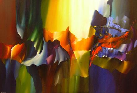 Arie koning schilderijen for Moderne schilderkunst